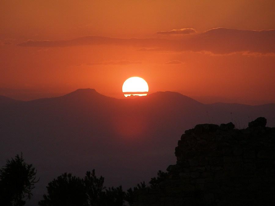 закат на Востоке