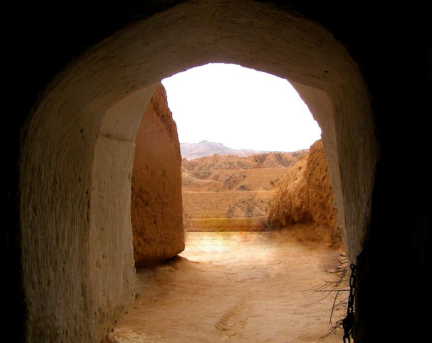 Пещеры Туниса